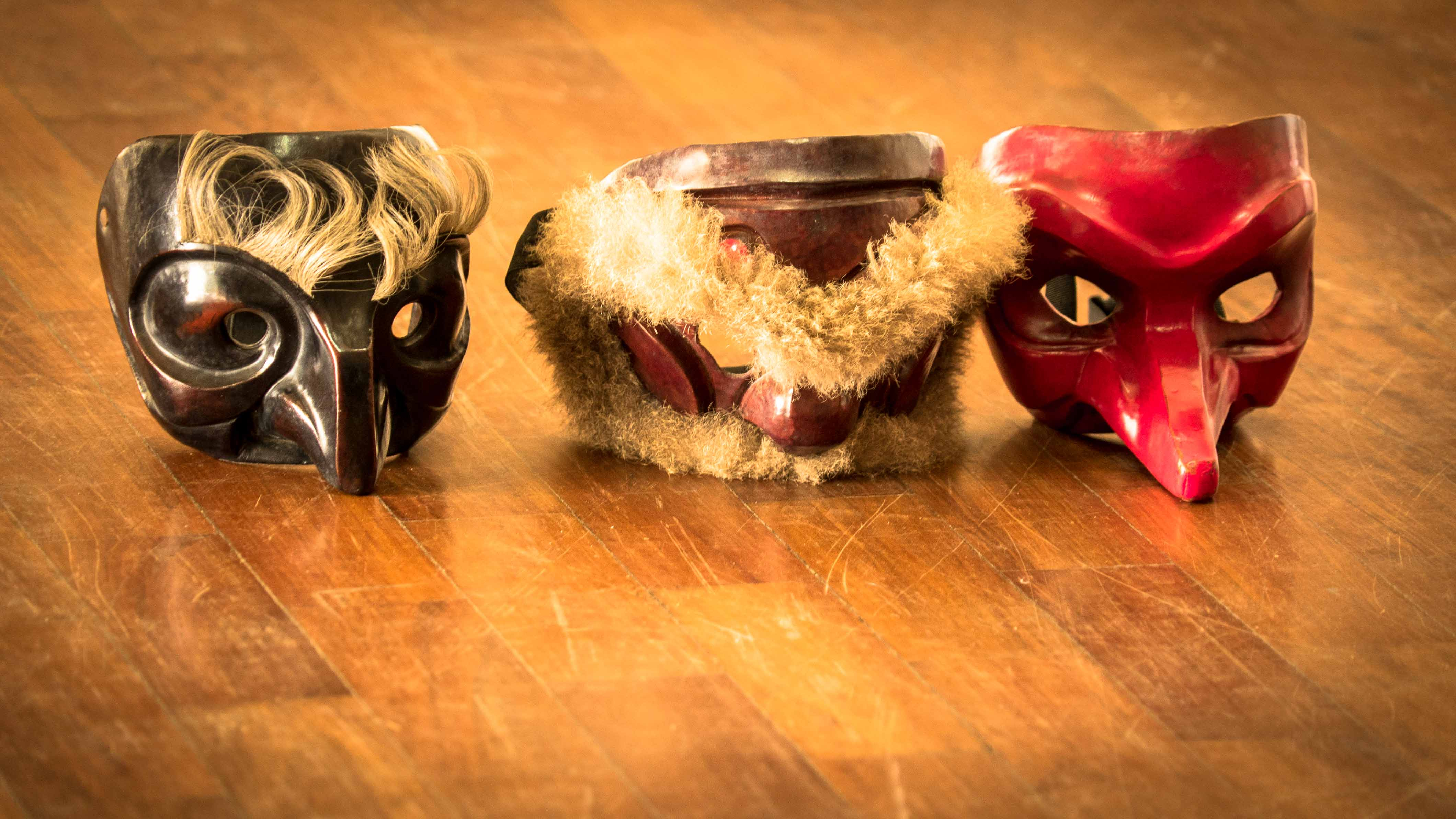 Masques de Commedia